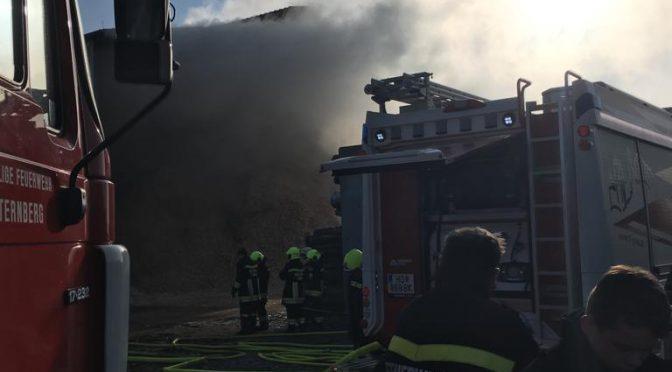 Zwei Großbrände in Gars