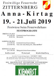 Plakat Anna-Kirtag
